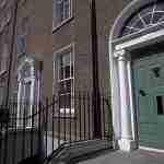 Porte colorate della capitale irlandese