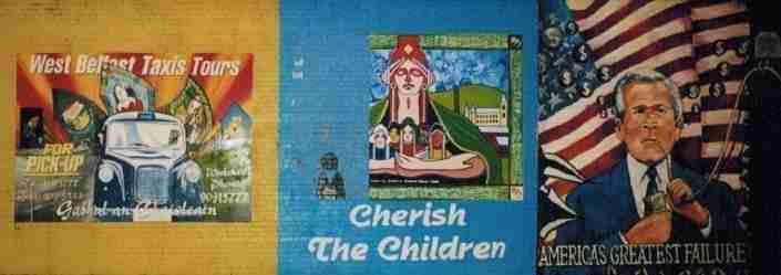 I murales di Belfast