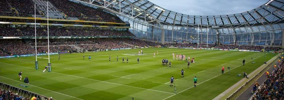 Aviva stadium, lo stadio di Dublino