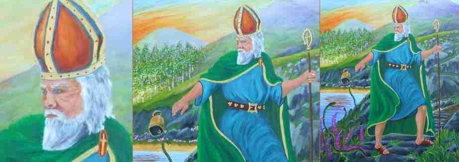 San Patrizio e i serpenti, Croagh Padraig