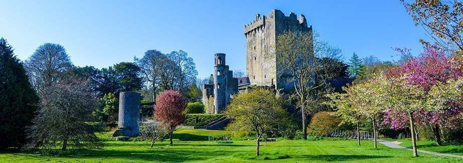 Blarney Stone and Castle