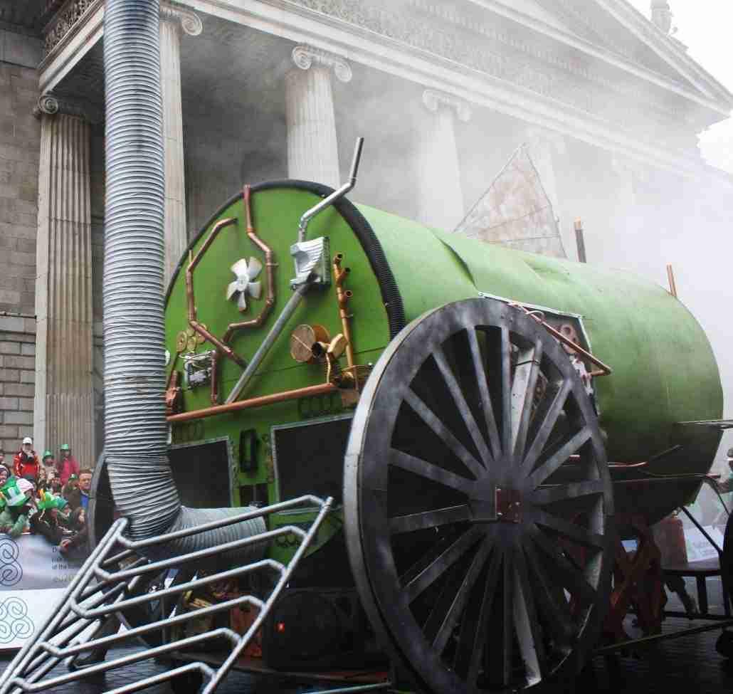 Dublin parade, la parata di San Patrizio a Dublino