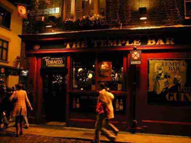 Il quartiere di Temple bar