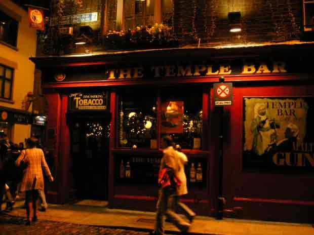 Il quartiere di Temple bar