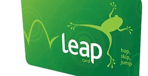 Leap visitor card