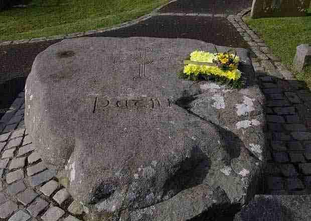 La tomba di San Patrizio, Down Cathedral