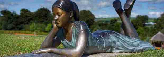 Statua di bronzo a Cork