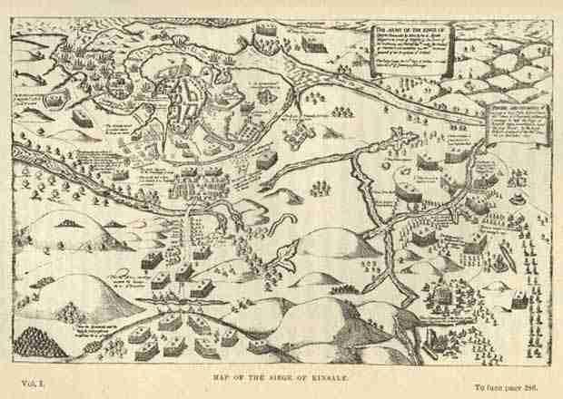 La battaglia di Kinsale