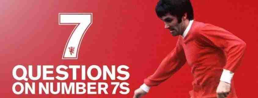 George Best, maglia numero 7
