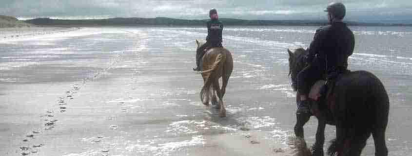 Trekking a cavallo in Irlanda