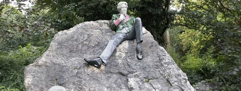 Statua Oscar Wilde, Merrion Square