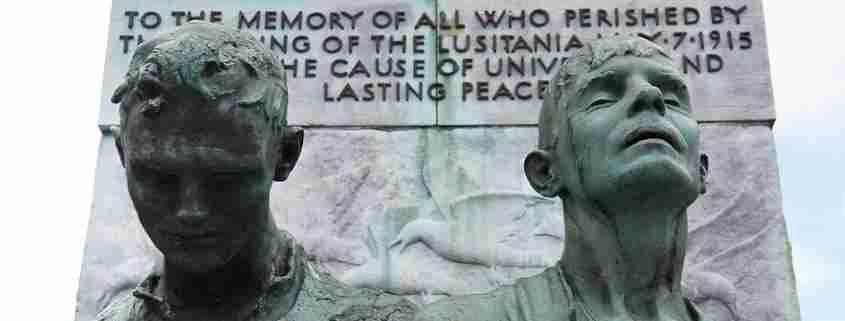 Lusitania Memorial a Cobh