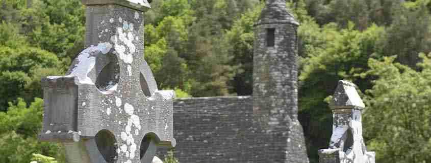 Glendalough, Monastero di St Kevin