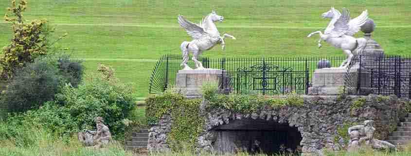 Wicklow, giardini di Powerscourt