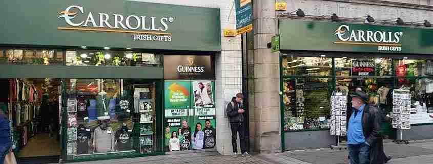 Shopping a Dublino