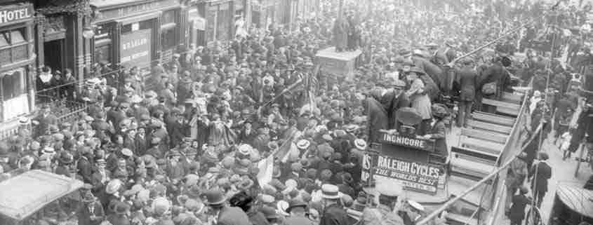 Pasqua 1916, Dublino