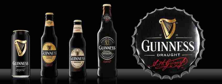Tipi di birra Guinness