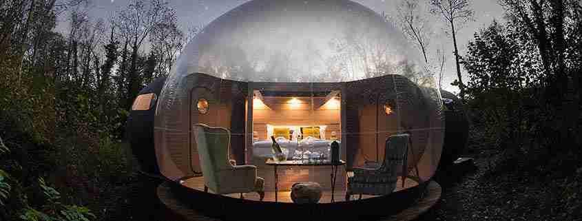 Finn Lough, Bubble Domes