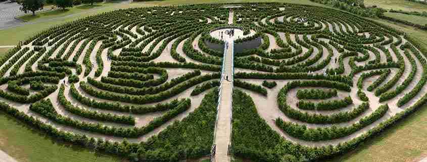 Peace Maze - Castlewellan Forest Park