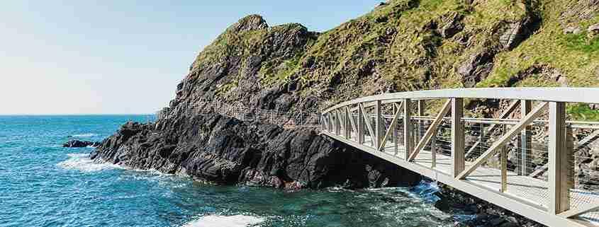 The Gobbins Cliff Path percorso