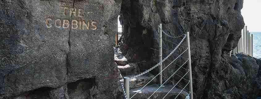 The Gobbins Cliff Path, ingresso