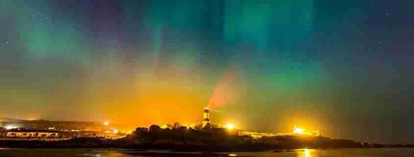 Inishowen Peninsula, aurora boreale