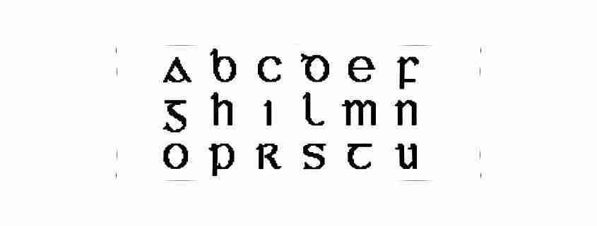 Alfabeto irlandese
