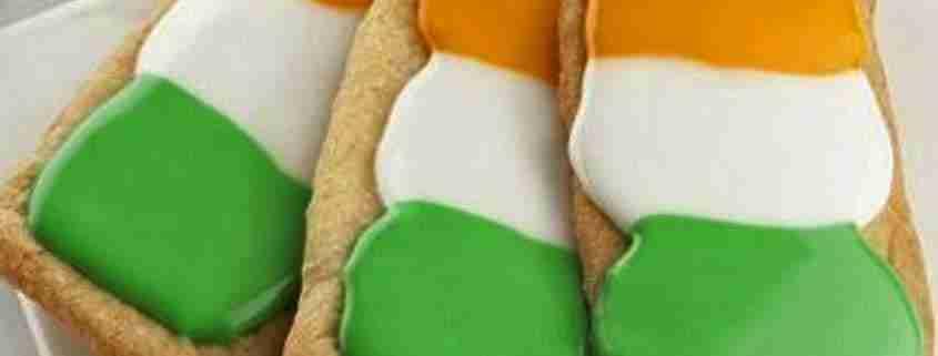 Biscotti dai colori della bandiera
