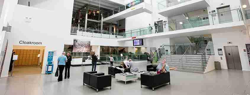 Ulster Museum, interno