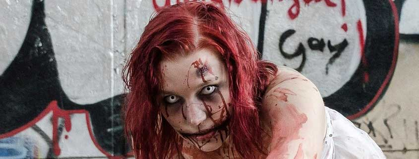 Make up zombie per ragazze