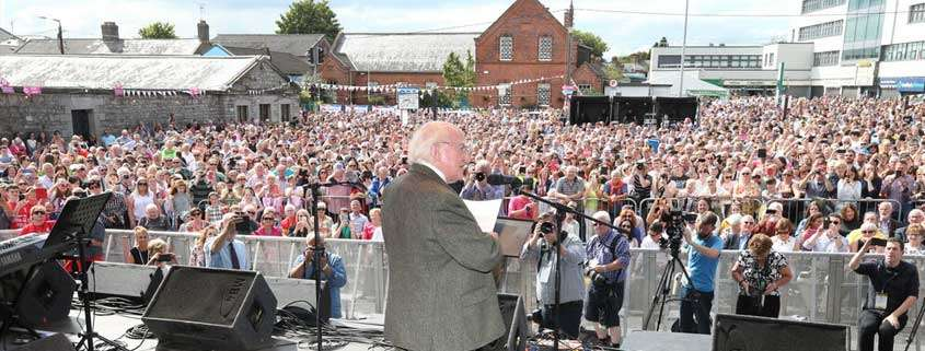 Presidente irlandese, Michael D Higgins
