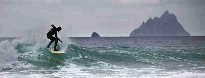 Tavola da surf nel Kerry