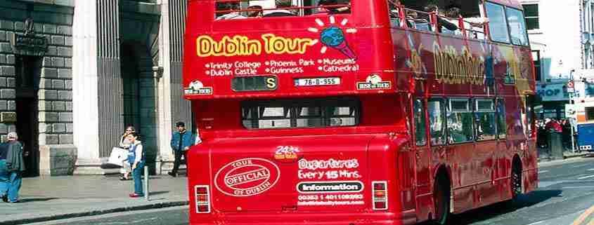 Dublin City tour bus