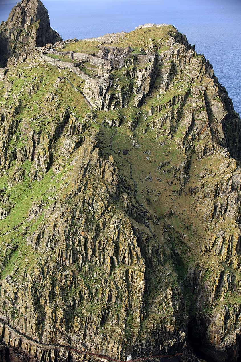 Skellig Michael, le Skelligs