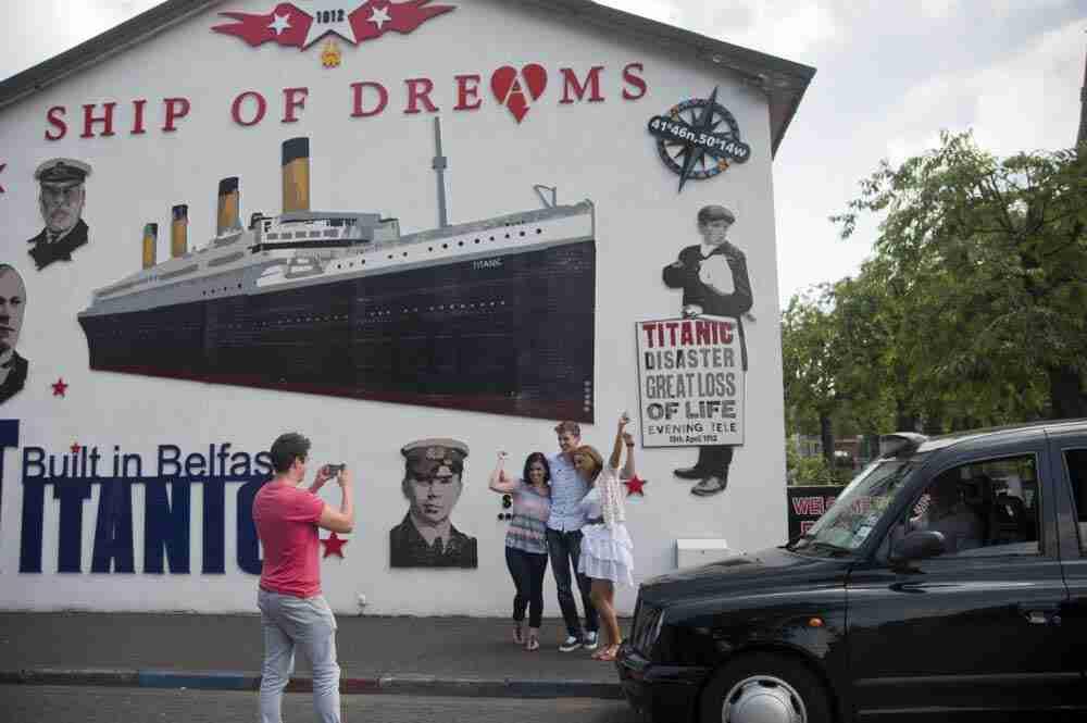 Murales dedicati al Titanic