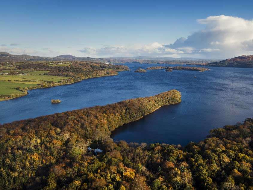 Hazelwood Forest e Lough Gill