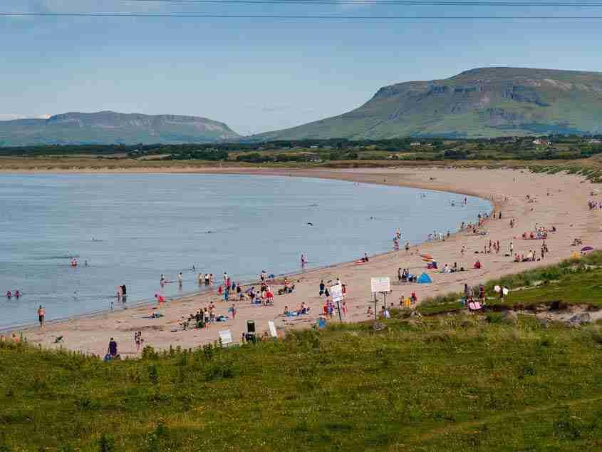 Mullaghmore spiaggia