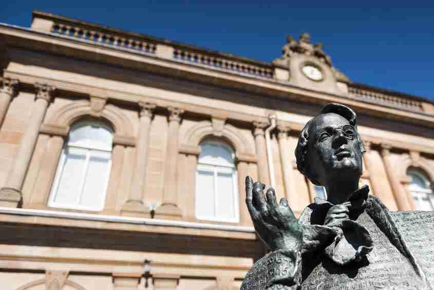 WB Yeats Statue, Sligo