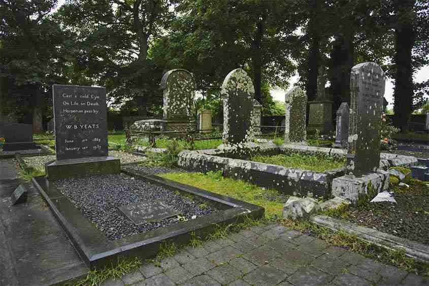 Grave William Butler Yeats