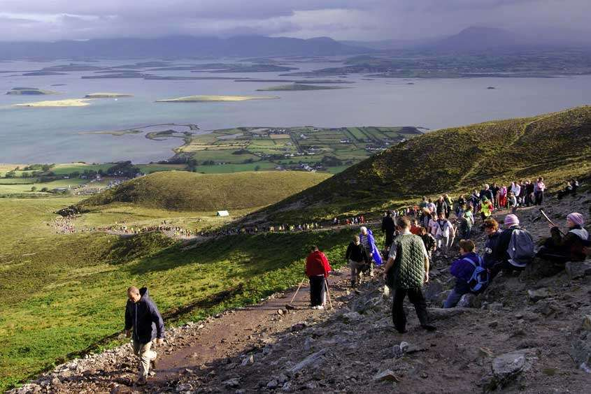 Itinerario e pellegrinaggi al Croagh Patrick