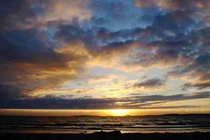 Il tramonto di Rosses Point