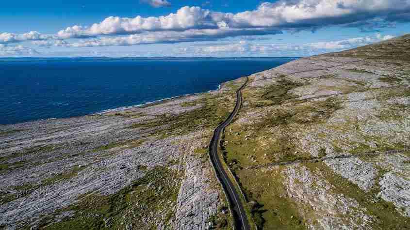 Coast Road, Black Head, The Burren