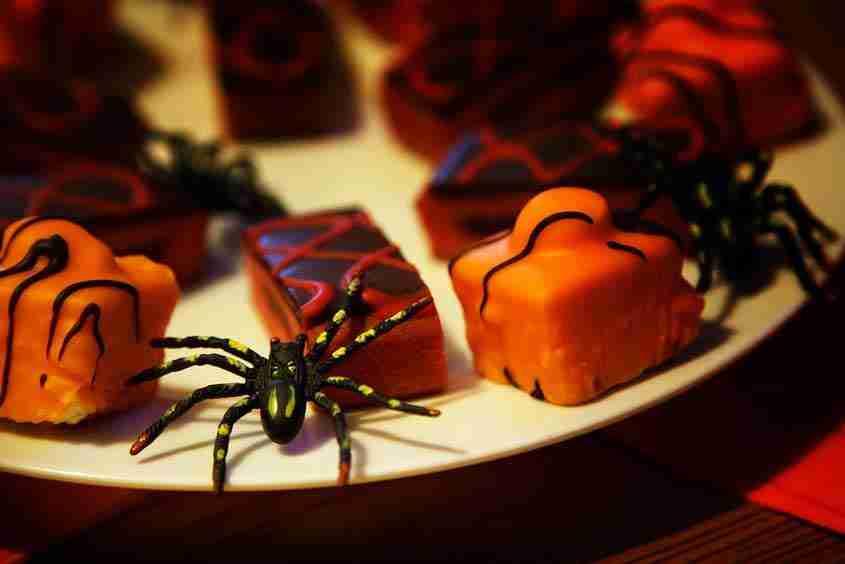 Cupcakes di ragni