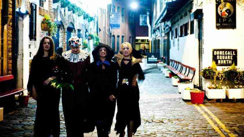 Halloween in Belfast