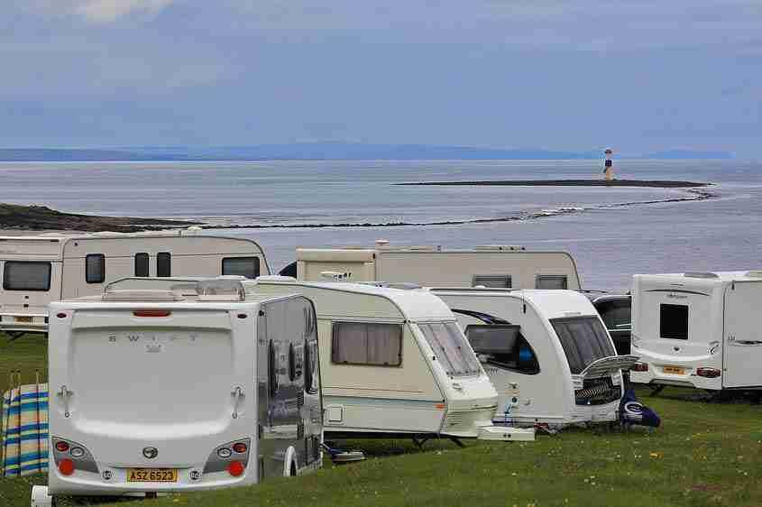 Caravan a Rosses Point