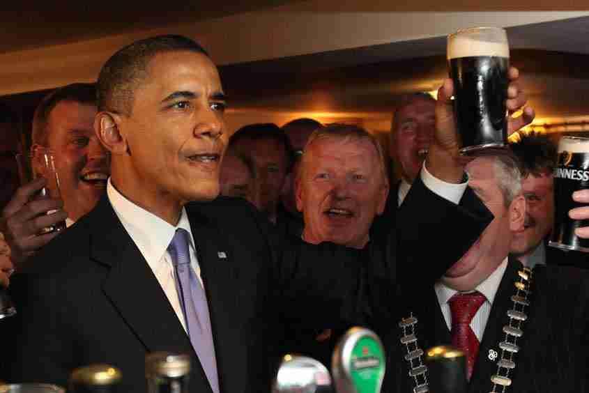 President Barack Obama – Moneygall