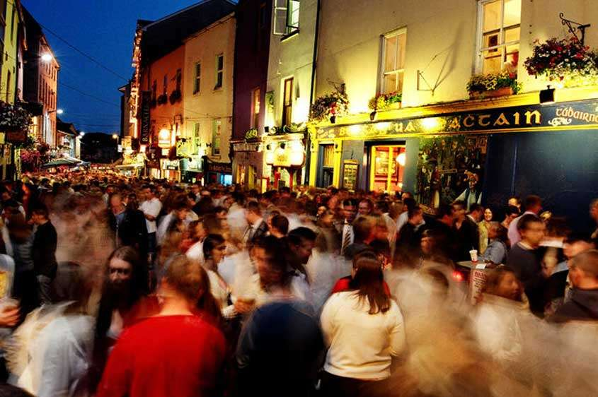 Paddys day, Galway