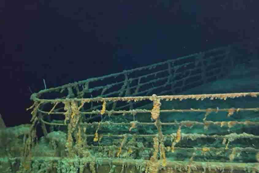 Il relitto dello RMS Titanic, nave Titanic